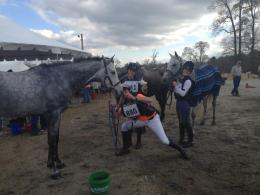 Team Geven at the PPF Horse Trials.